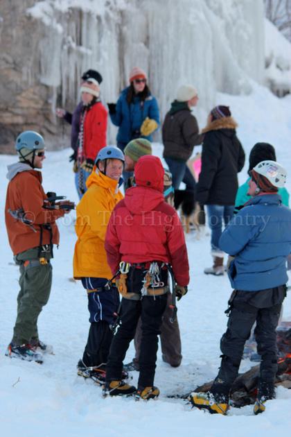 The Lake City Ice Climbing Festival