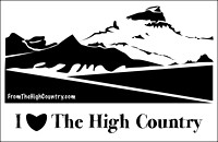 High Country Sticker